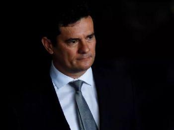 O ministro da Justiça e Segurança Pública, Sérgio Moro — Foto: Nelson Almeida/AFP