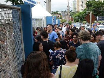 Total de inscritos foi de 51% dos candidatos no Enem 2018 - Foto: Álvaro Rezende / Correio do Estado