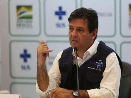 Ministro da Saúde, Luiz Henrique Mandetta, foi criticado por sua postura à frente da pasta - Marcello Casal Jr./Agência Brasil