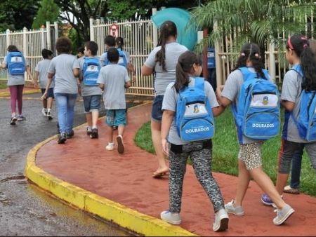 Em Dourados as aulas estão suspensas desde o dia 18 de março - Foto: Divulgação