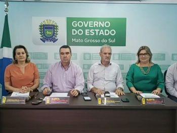 Governo do Estado promoveu coletiva de imprensa para falar sobre casos do coronavírus